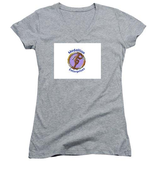 Medallion Enterprises Women's V-Neck T-Shirt