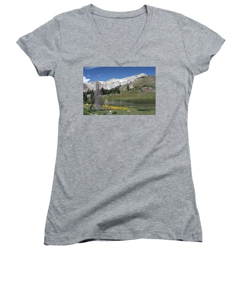 Medicine Bow Peak Women's V-Neck (Athletic Fit)