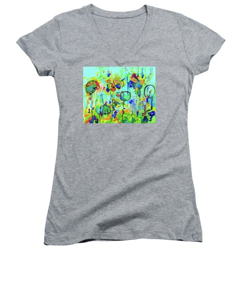 Meet You At The Carnival Women's V-Neck (Athletic Fit)