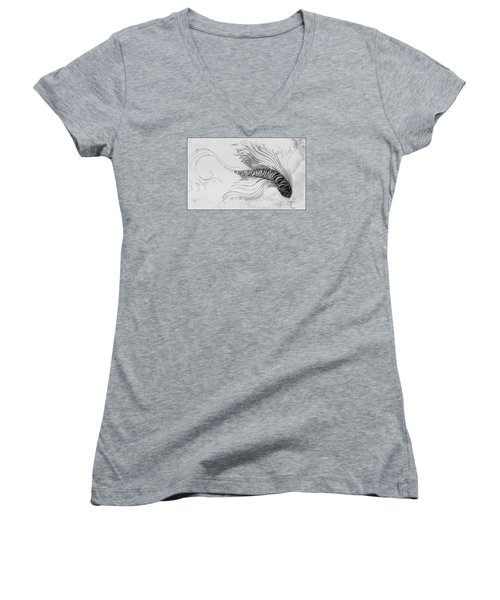 Megic Fish 3 Women's V-Neck