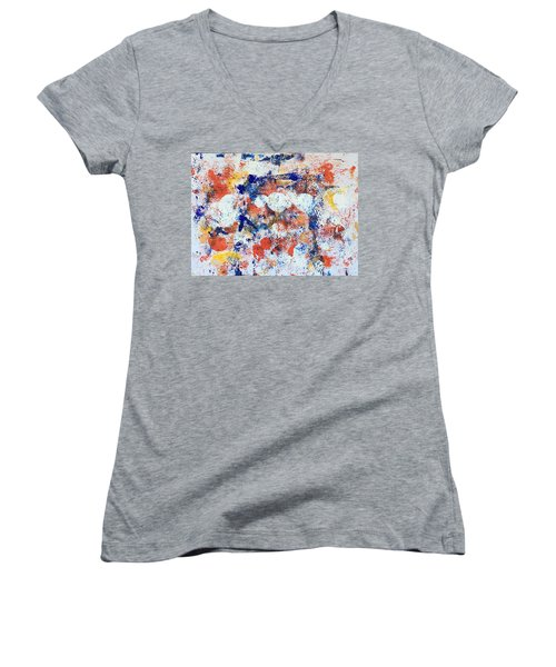 Memorial No 3 Women's V-Neck (Athletic Fit)