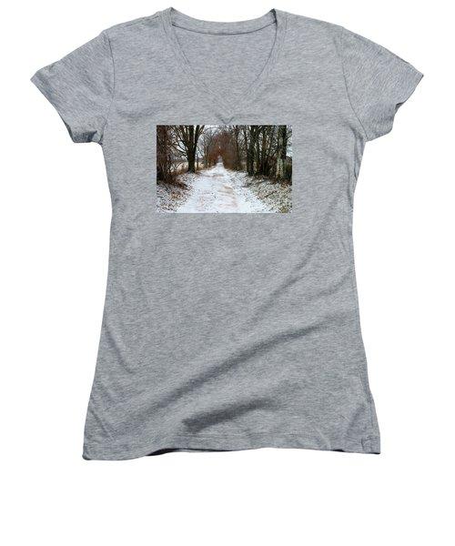 Memory Lane Women's V-Neck T-Shirt