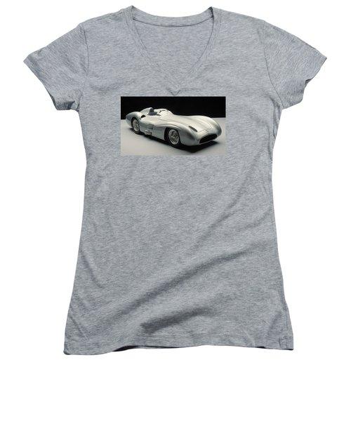Mercedes-benz W196 Women's V-Neck