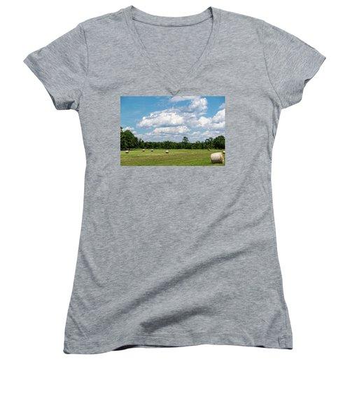 Mercer County Landscape Women's V-Neck T-Shirt