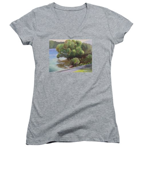 Merrimack Tree Women's V-Neck T-Shirt