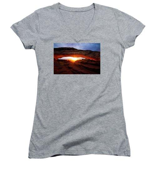 Mesa Arch Sunrise Women's V-Neck