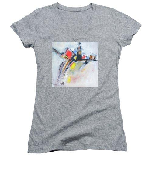 Metro Energy Women's V-Neck T-Shirt