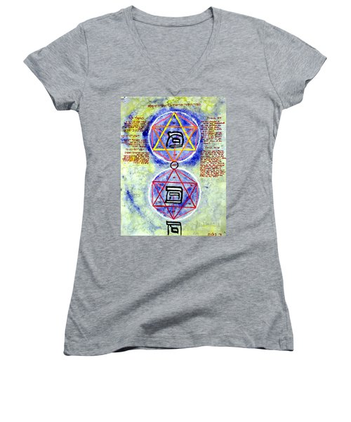 Mi And Ma Women's V-Neck (Athletic Fit)