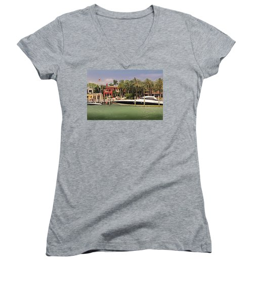 Miami Style Women's V-Neck (Athletic Fit)