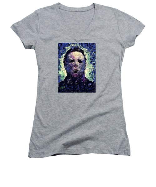 Michael Myers Women's V-Neck