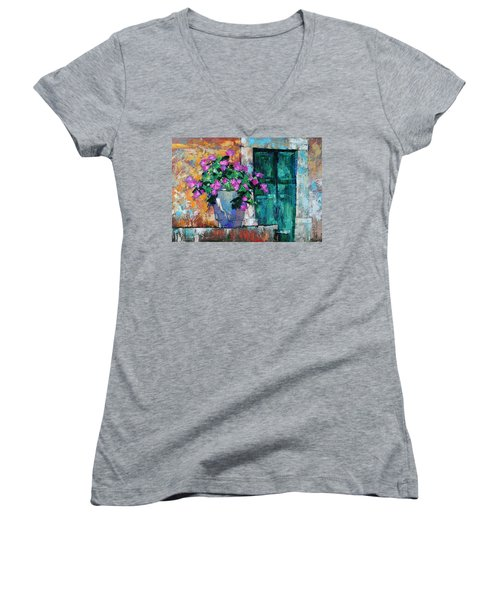 Mid Summer Women's V-Neck T-Shirt