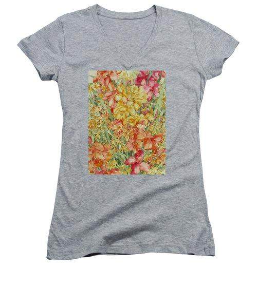 Summer Day Women's V-Neck T-Shirt