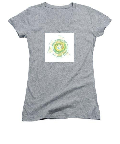 Middle Of Summer Women's V-Neck T-Shirt