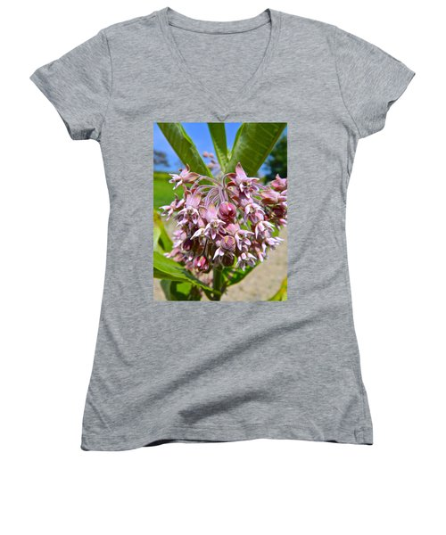 Milkweed Beauty Women's V-Neck (Athletic Fit)