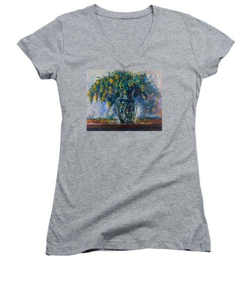 Mimosa Women's V-Neck T-Shirt