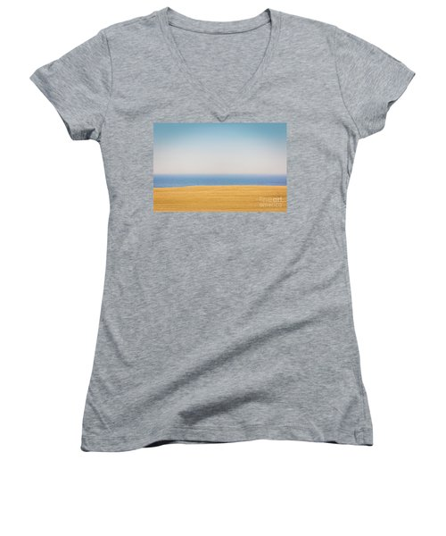 Minimal Lake Ontario Women's V-Neck