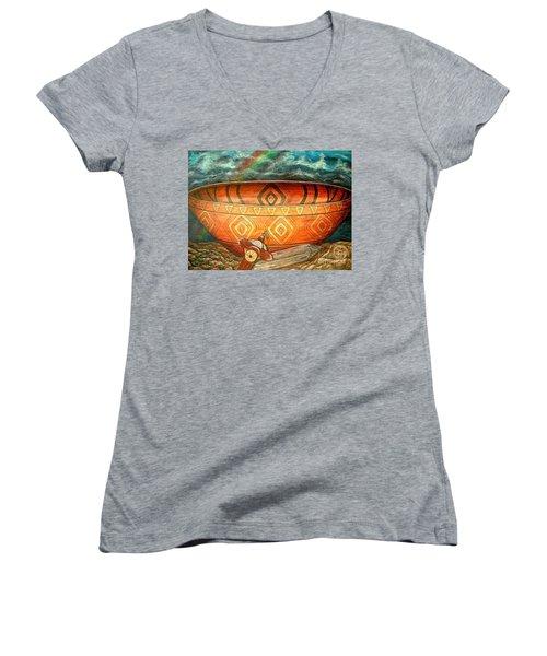 Miracles Women's V-Neck T-Shirt
