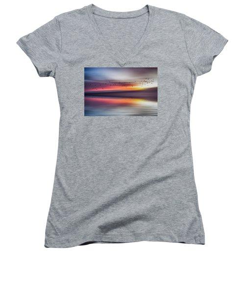 Mirage Women's V-Neck T-Shirt