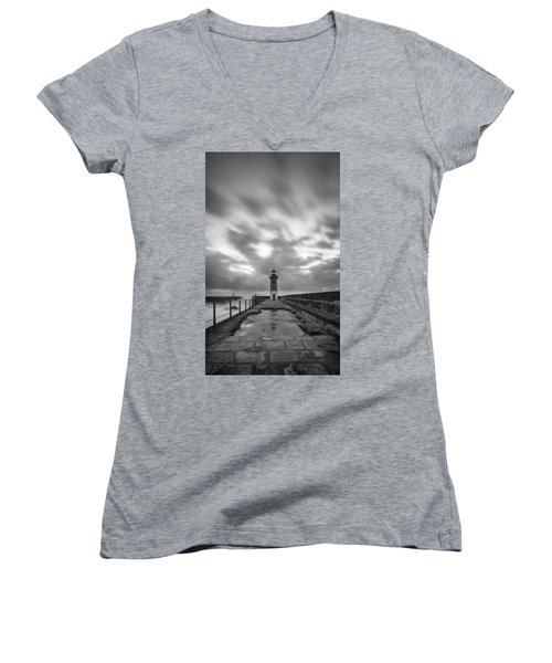 Mirror Mirror Is Water The Reason Of It All.. Women's V-Neck