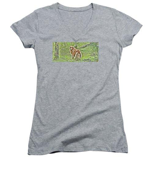 Miss B Women's V-Neck T-Shirt