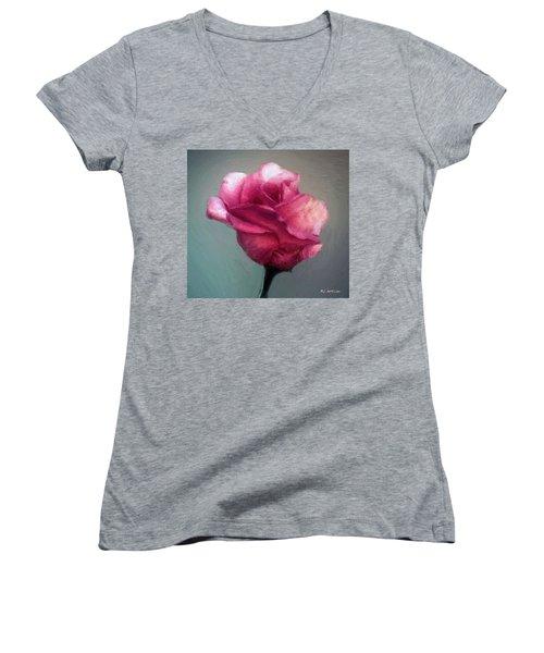 Miss Melanie Women's V-Neck T-Shirt