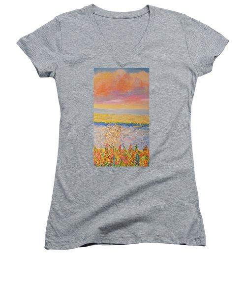 Missouri River Women's V-Neck T-Shirt