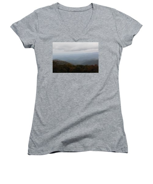 Misty Mountains More Women's V-Neck T-Shirt