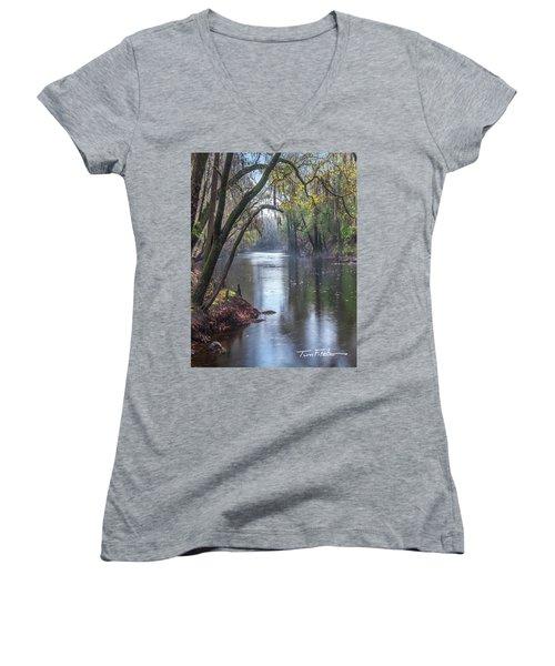 Misty River Women's V-Neck T-Shirt