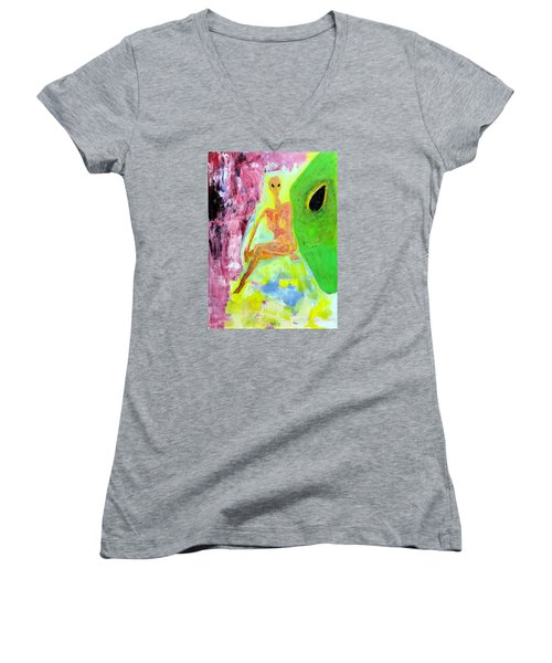 Moana Visa With Mate Women's V-Neck T-Shirt
