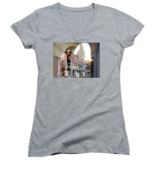 Modena, Italy Women's V-Neck T-Shirt