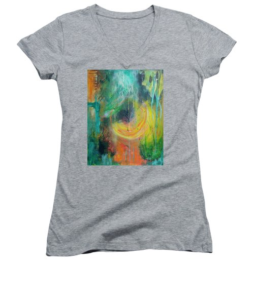 Moment In Time Women's V-Neck
