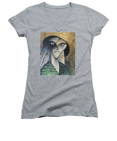 Moments The Medium  Women's V-Neck T-Shirt (Junior Cut)