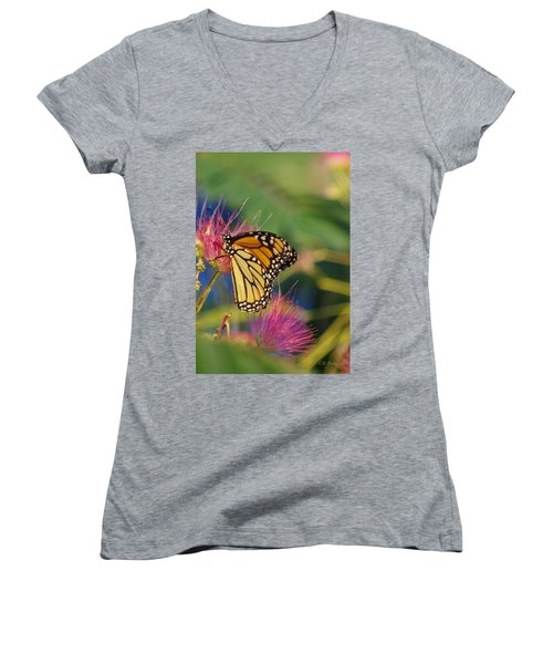 Monarch 2 Women's V-Neck T-Shirt (Junior Cut)
