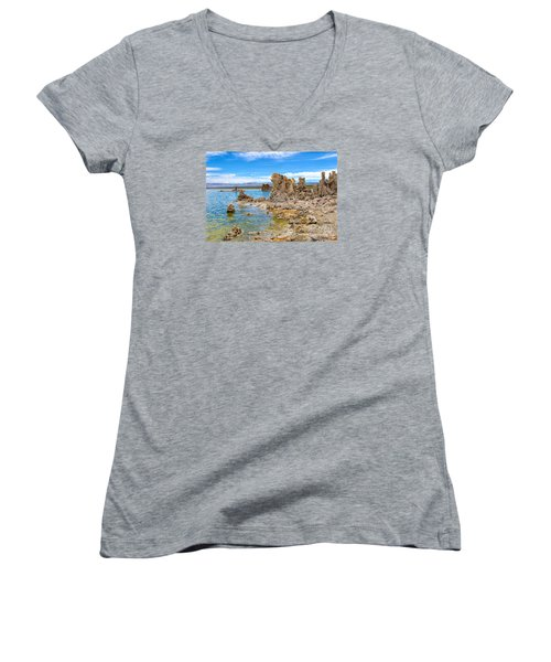 Mono Lake Women's V-Neck T-Shirt