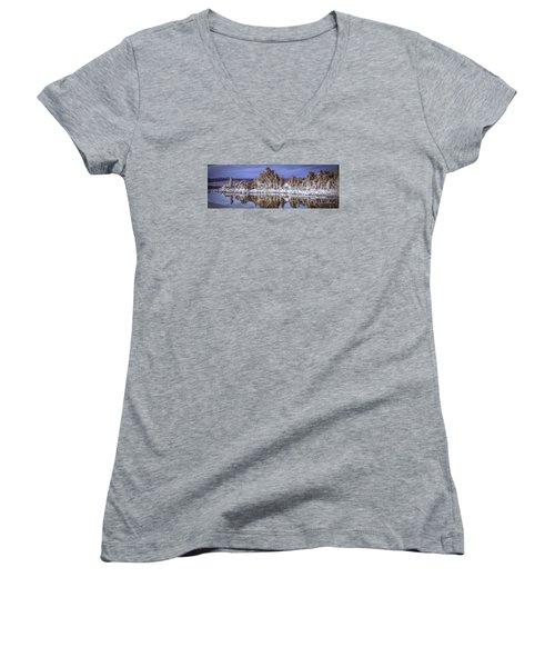 Mono Lake Tufa Women's V-Neck