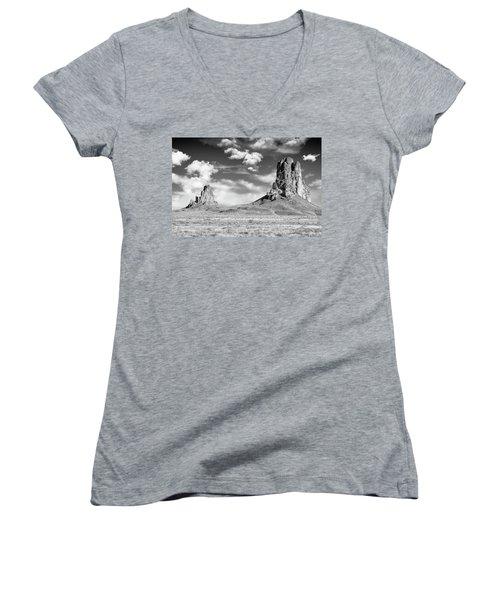 Monoliths Women's V-Neck T-Shirt