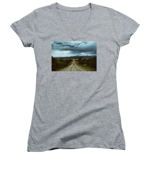 Monsoons From The Meadows Women's V-Neck