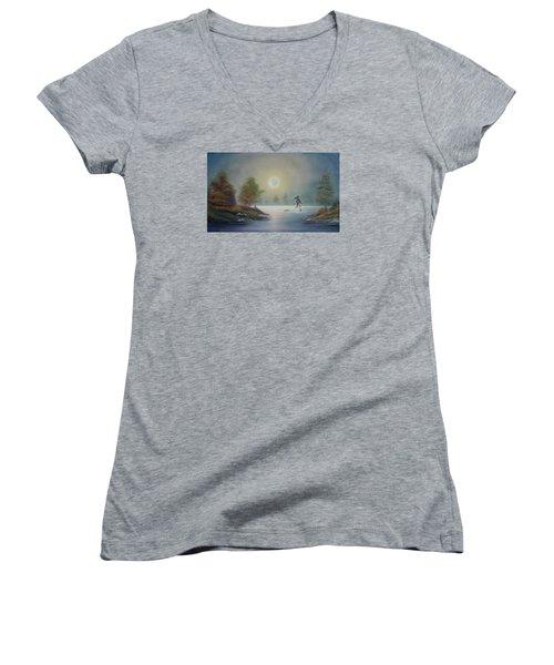 Monstruo Ness Women's V-Neck T-Shirt