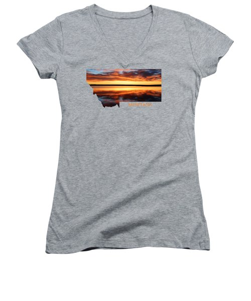 Montana Glory Women's V-Neck T-Shirt