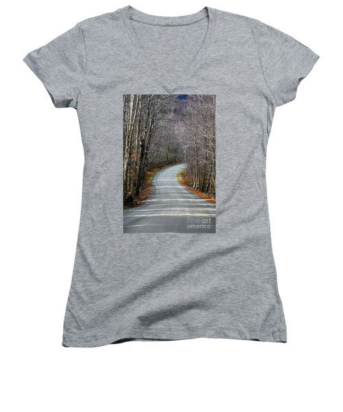 Montgomery Mountain Rd. Women's V-Neck