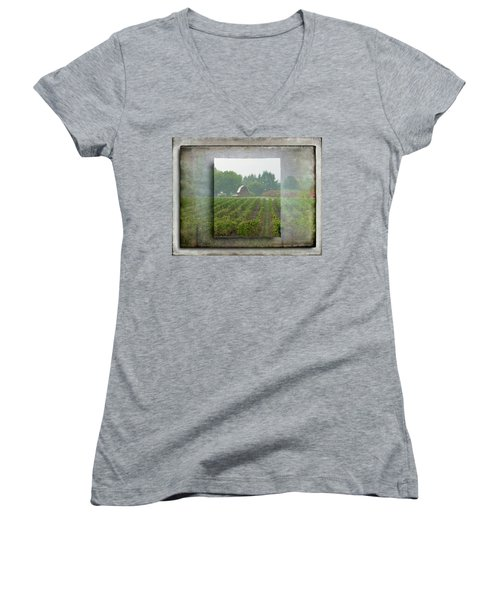 Montinore Winery Women's V-Neck