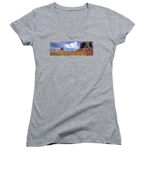 Monument Valley Mittens Women's V-Neck