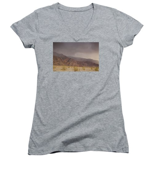 Moods Of Death Valley National Park Women's V-Neck (Athletic Fit)
