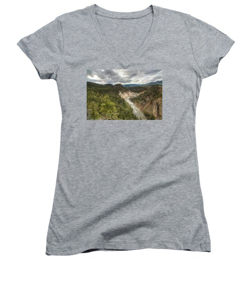 Moody Yellowstone Women's V-Neck