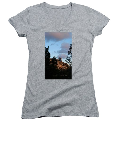 Moon And Rock Women's V-Neck