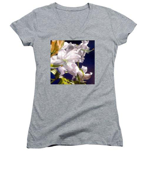 Moon Glow Women's V-Neck T-Shirt