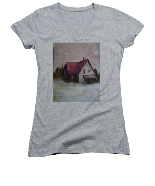 Moon House Women's V-Neck T-Shirt