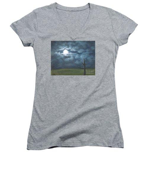 Moonglow Women's V-Neck T-Shirt