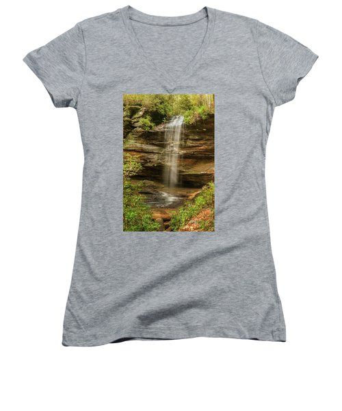 Moore Cove Falls Women's V-Neck (Athletic Fit)