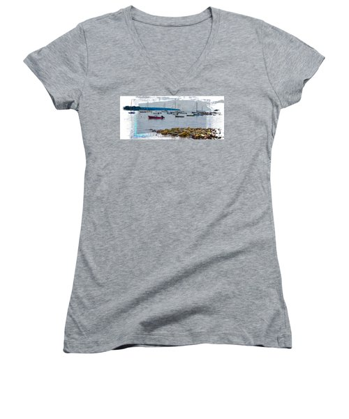 Moorings Mug Shot Women's V-Neck